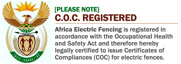 Certificate of Compliance registered